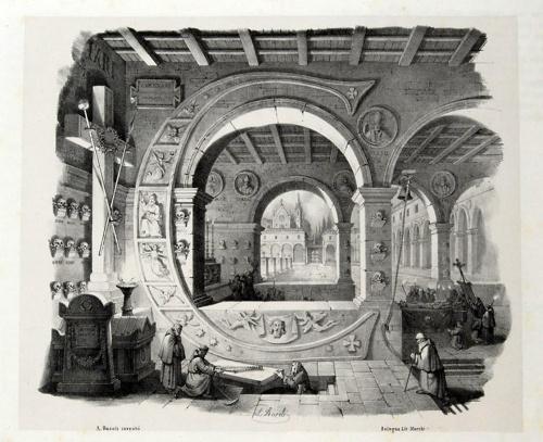 'Архитектурный' алфавит Antonio Basoli (26 работ)