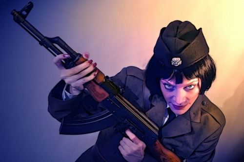 Вооружена и очень опасна (202 фото) (эротика)