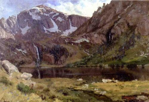 Альберт Бирштадт (Albert Bierstadt) (1830-1902) (183 работ)