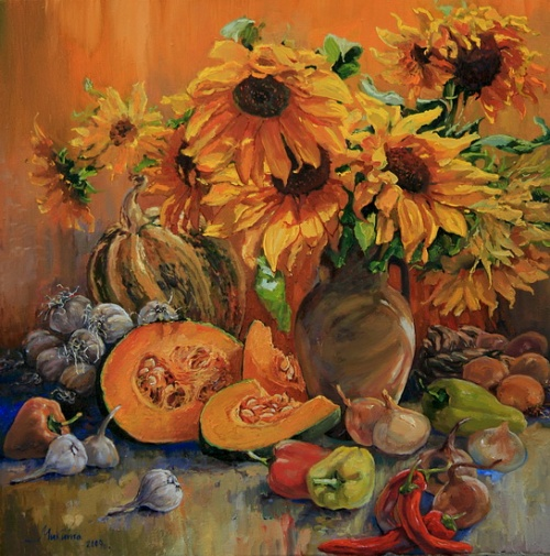 Украинская художница Ольга Дидык (72 работ)