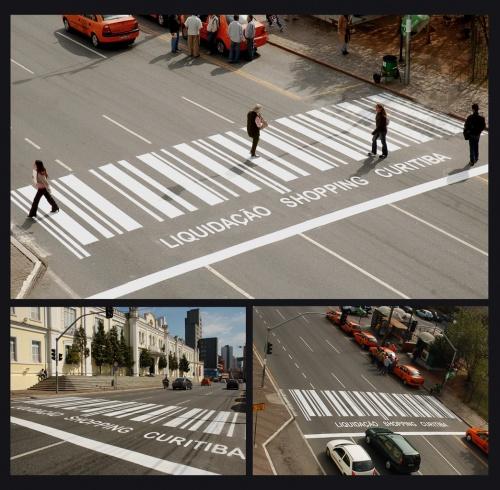 Рекламный креатив на улицах (50 фото)