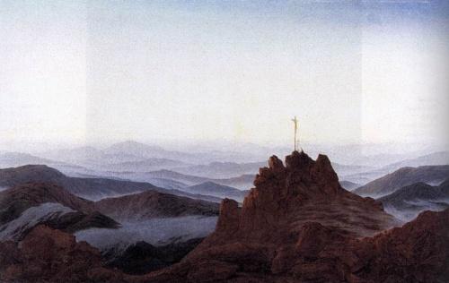 """Фридрих Каспар Давид """"Caspar David Friedrich"""" (75 работ)"""