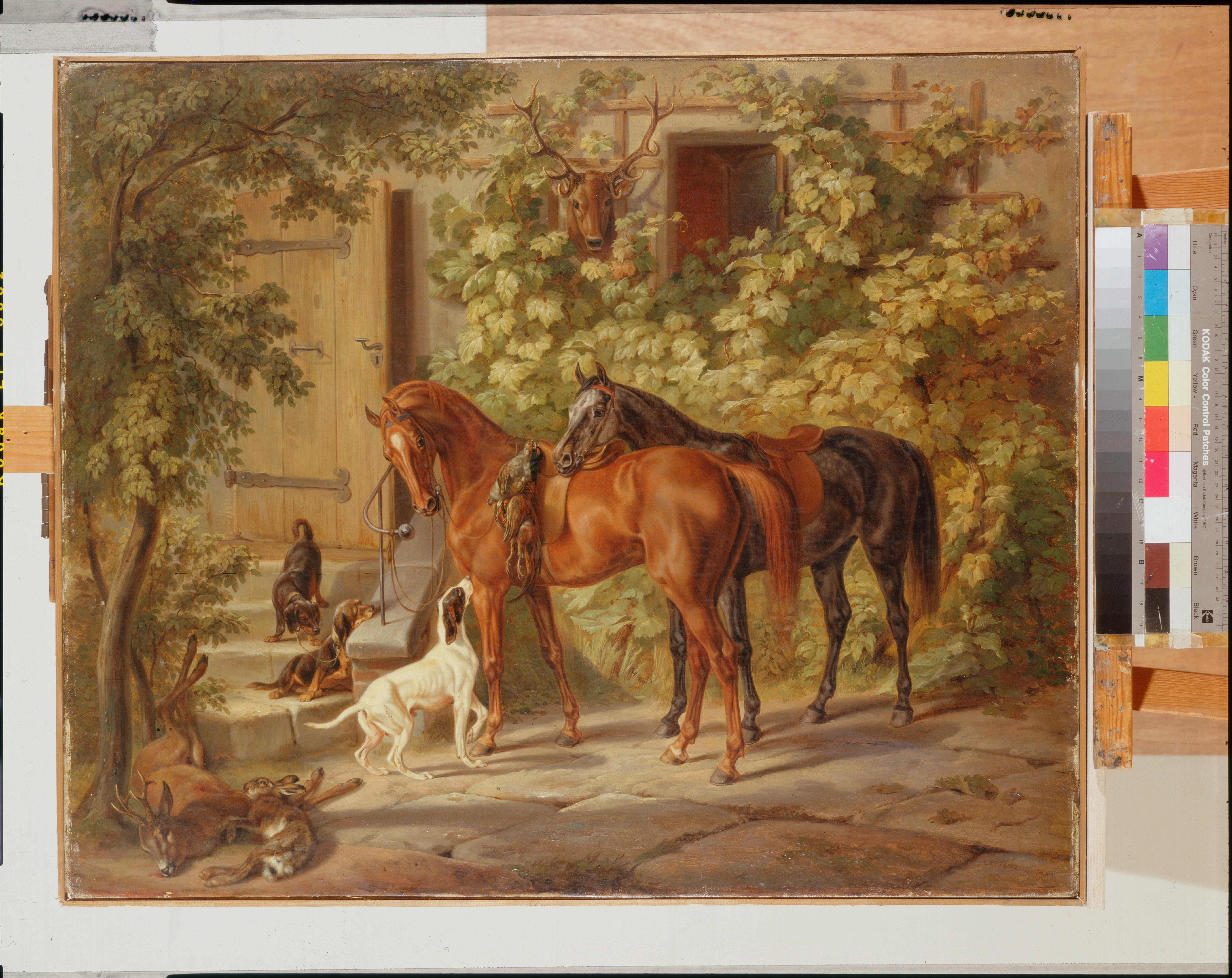 Животные картины художников 5