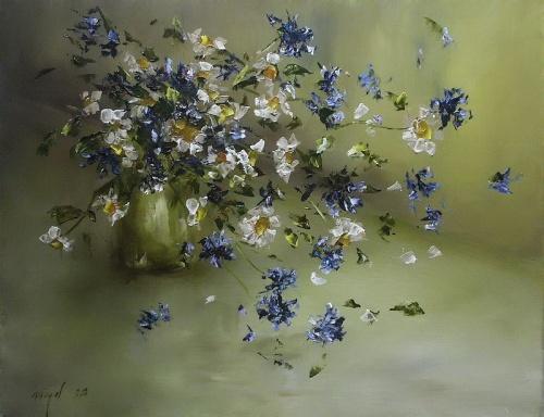 Цветы от Malgorzata Niegel (36 работ)