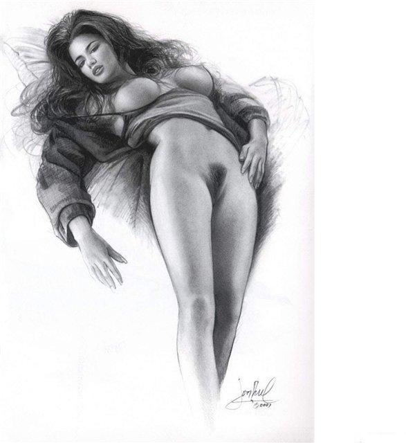 Рисунки карандашом эротические обнаженные женщины фильмы