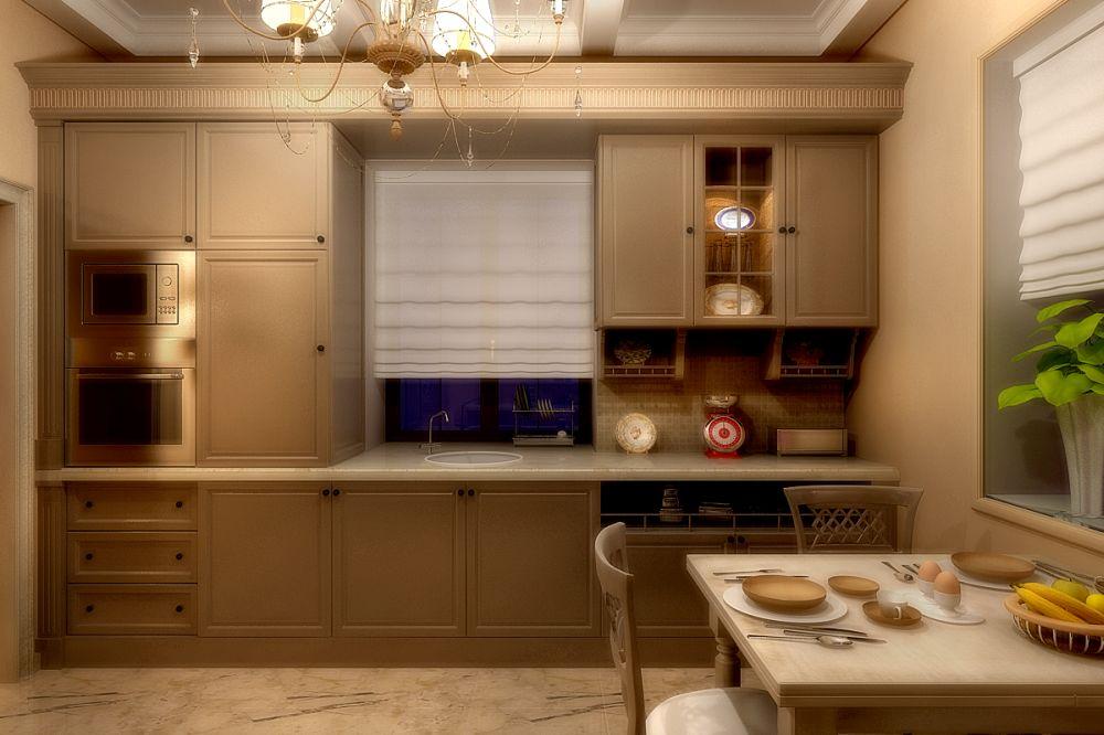 Дизайн проект кухни коттеджа