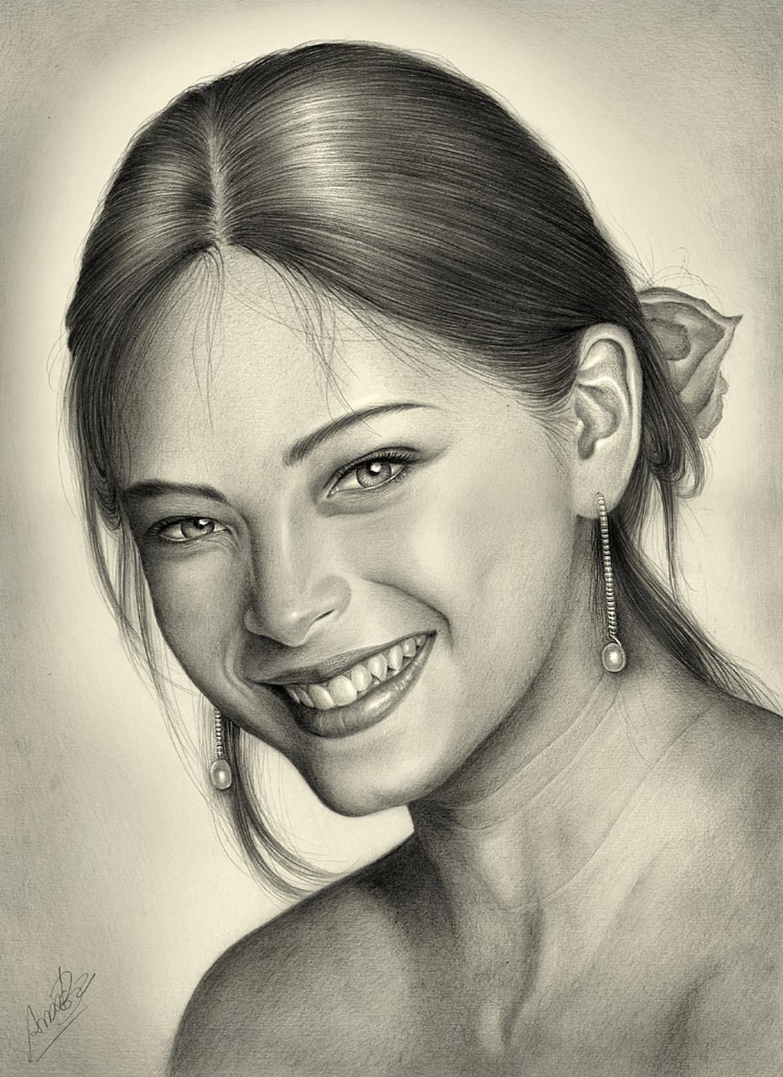 Рисунки карандашом голых девочек 29 фотография