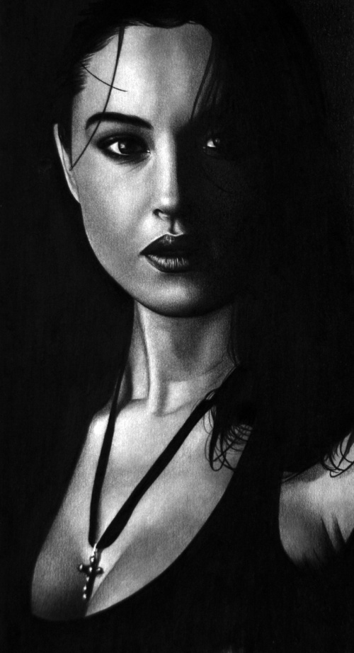 Современный портрет. Рисунок (430 работ) (1 часть)