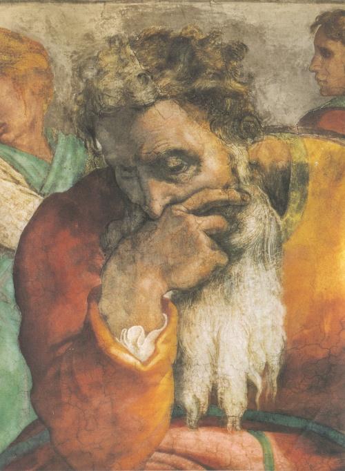 Микеланджело. Фрагменты росписи Сикстинской капеллы (14 работ)