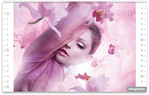Omega Print - Official Calendar 2010 (русская версия) (14 фото)