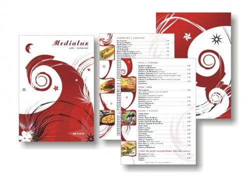 Menu Design | Дизайны меню (39 работ)