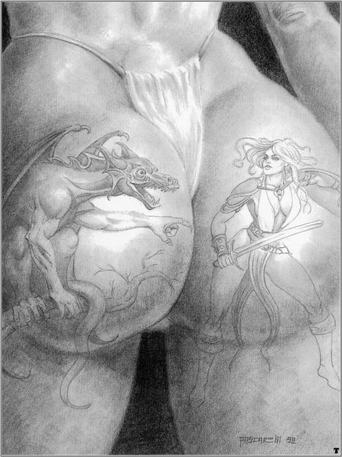 Эротический рисунок карандашом 17 фотография