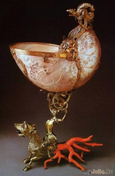 Nautilus-драгоценное украшение (23 фото)