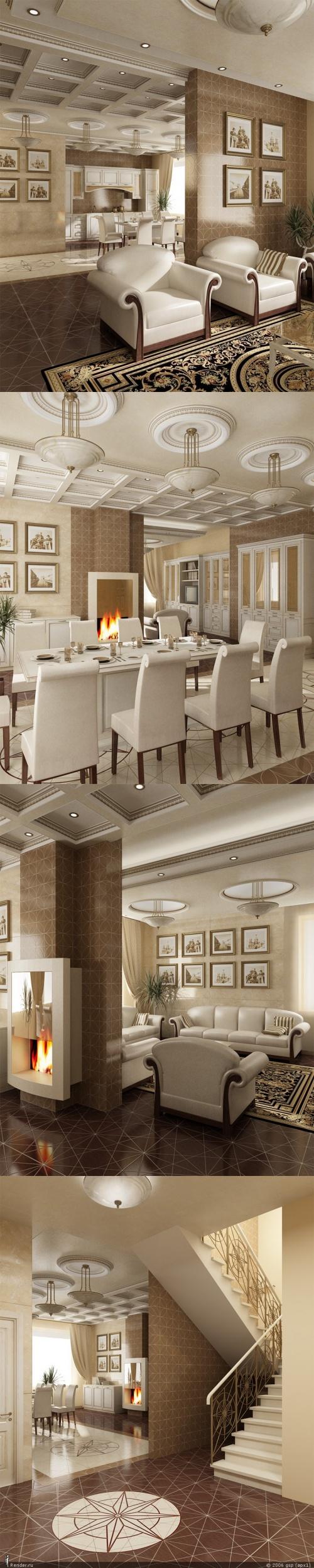 Дизайн интерьера жилых помещений (696 фото)