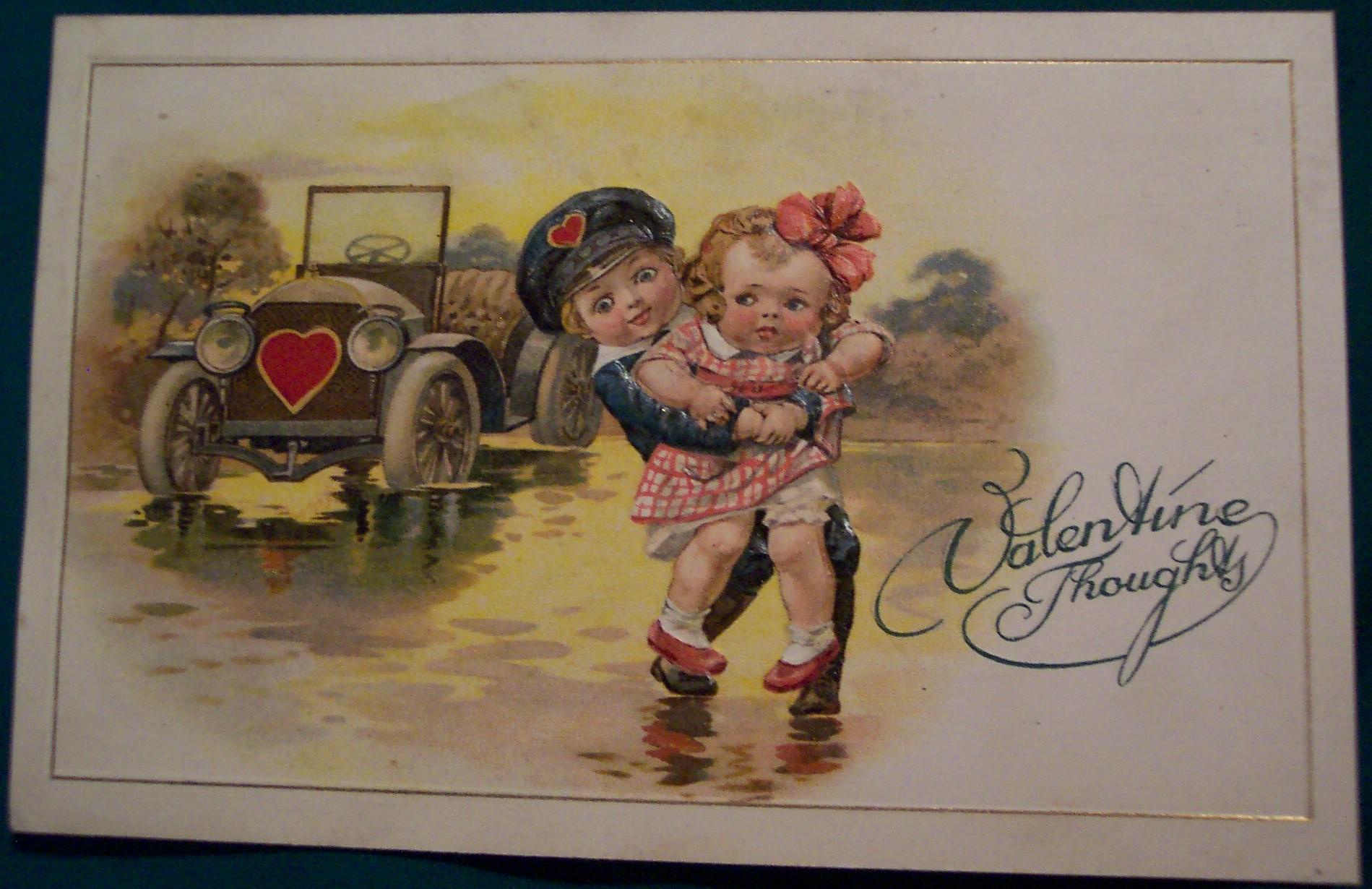 Картинки на ретро открытках 429