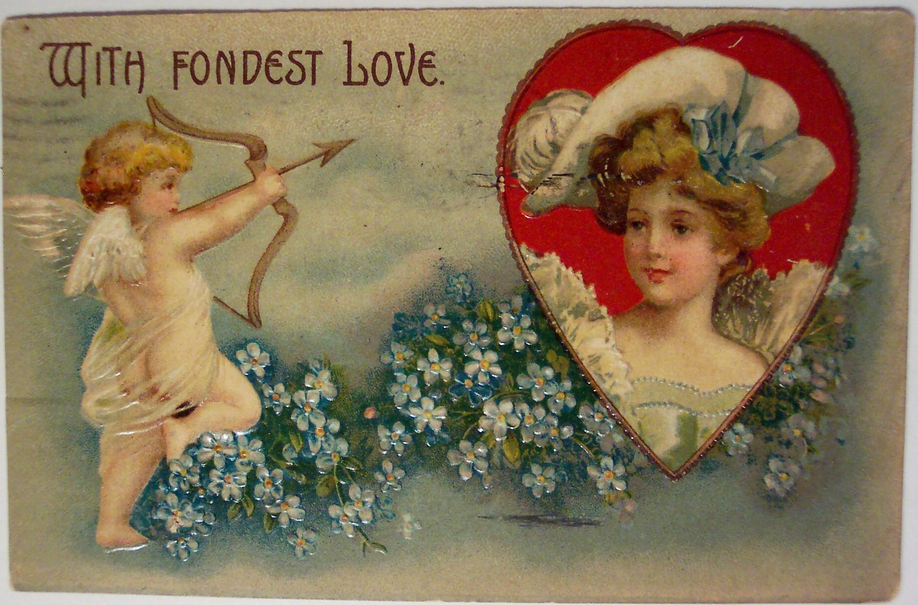 Старинные открытки 19