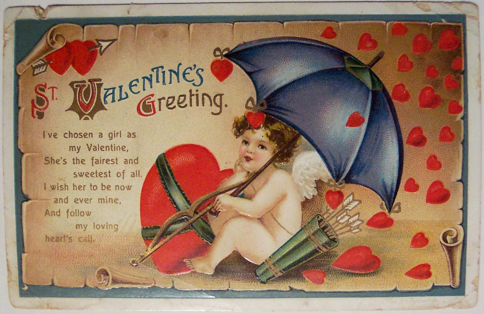 Поздравления с днем Святого Валентина - Поздравок 8