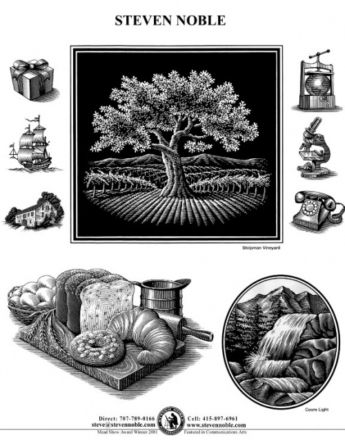 Graphic Design, Typography, Branding, Illustration (part 10) Steven Noble (41 работ)
