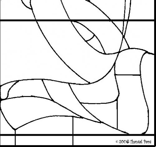Витражи с раскладками (284 работ)