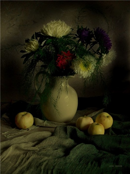 Лариса Запатрина. Натюрморт (128 фото)