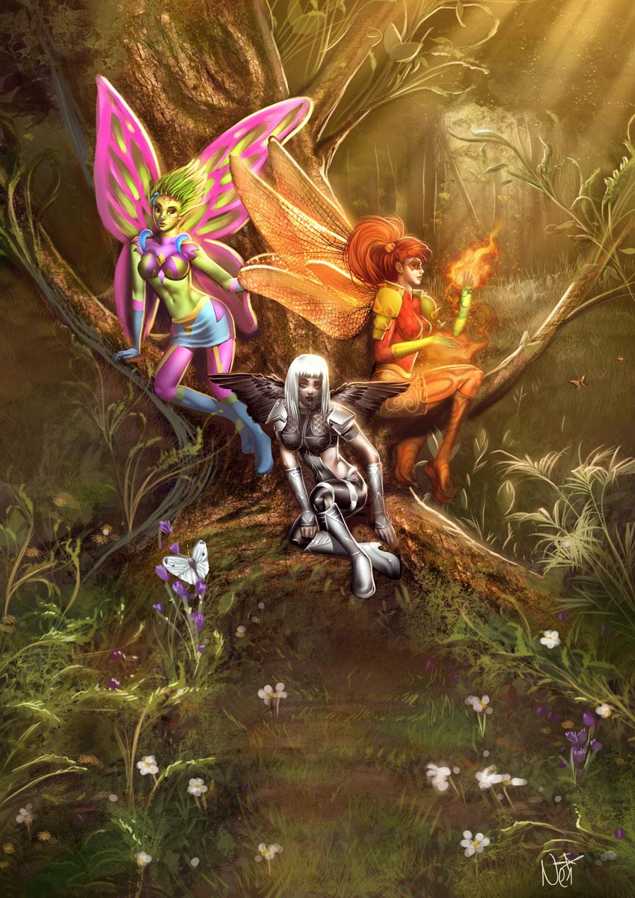 Fairies and elves xxx toons pornos clips