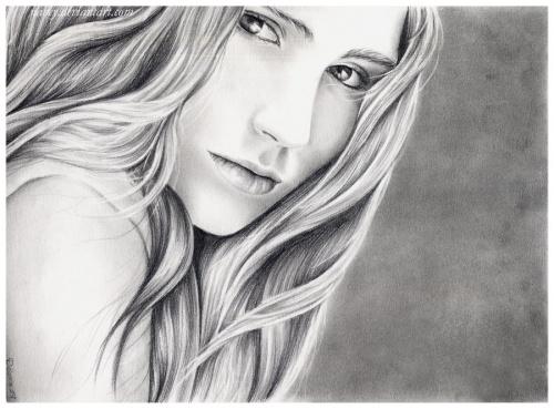 Портреты карандашом от debora aguelo (101 работ) (2 часть)