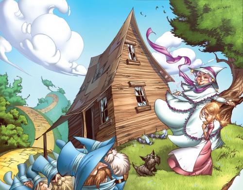 Старые сказки и комиксы по новому. Nei Ruffino (172 работ)