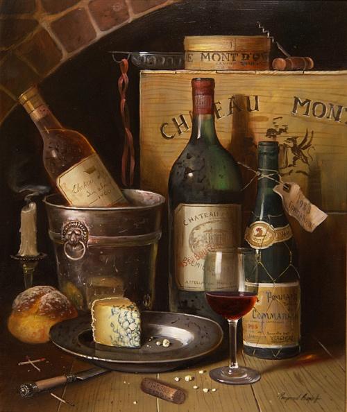 Натюрморты от Raymond Campbell (39 работ)