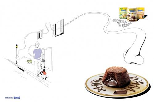Современная реклама: Кондитерские изделия (100 фото)