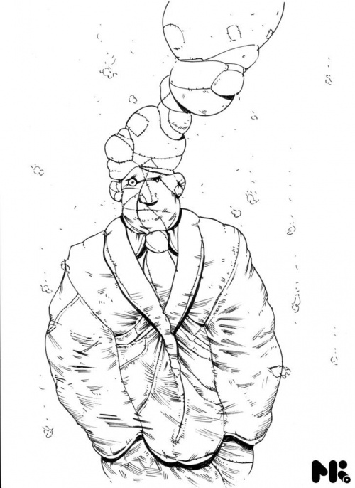 Concept Art for Alice in Wonderland (58 работ)