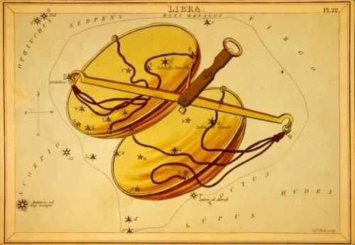 """Старинный атлас созвездий - """"Urania's Mirror"""" (1825) (31 работ)"""