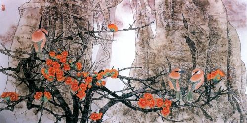 Китайский живописец Yitao Liu (220 работ)
