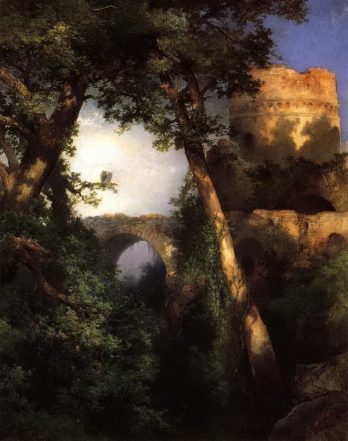 Художник Thomas Moran - Пейзажи Дикого запада (37 работ)