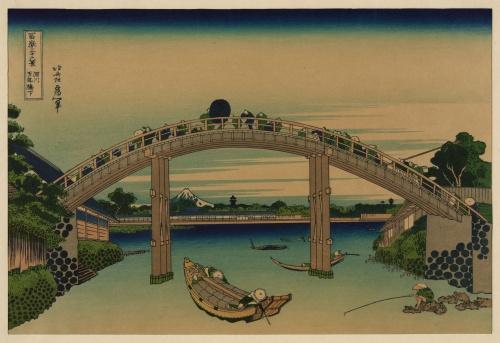 Katsushika Hokusai (1760-1849) (63 работ) (1 часть)