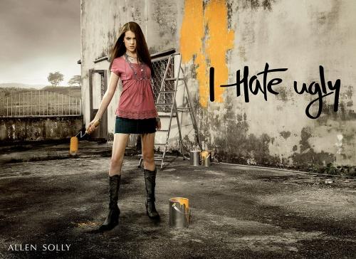 Современная реклама: Одежда и обувь (100 фото)