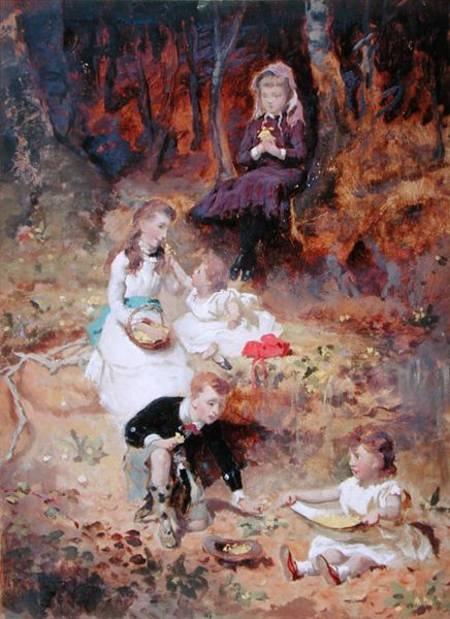 George Elgar Hicks (1824 - 1914) (49 работ)