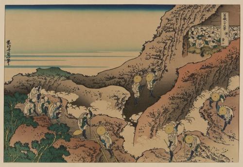 Katsushika Hokusai (1760-1849) (63 работ) (2 часть)
