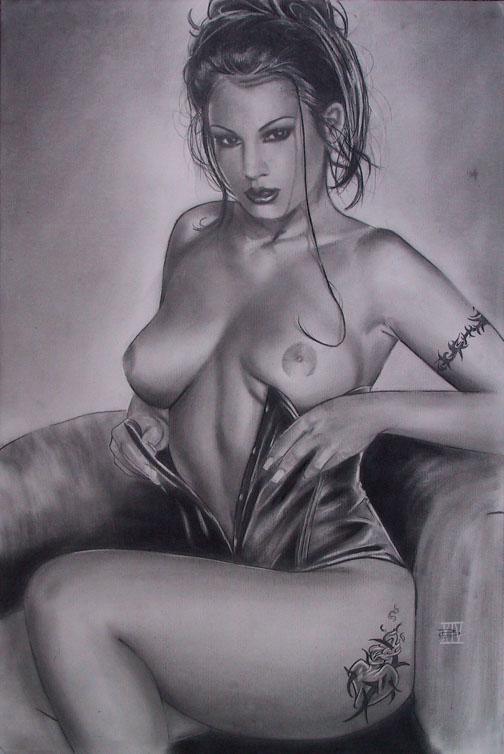 Смотреть реалистичные рисунки карандашом эротка порно