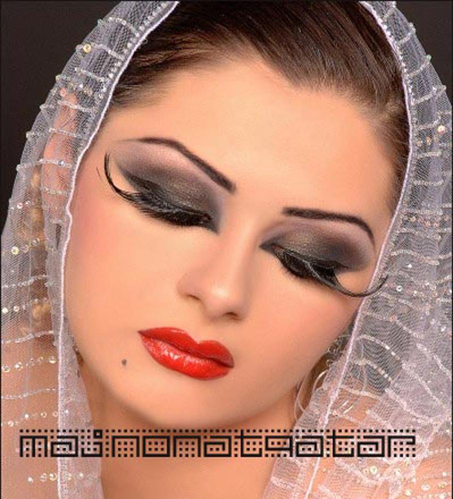 арабские прически и макияж видео