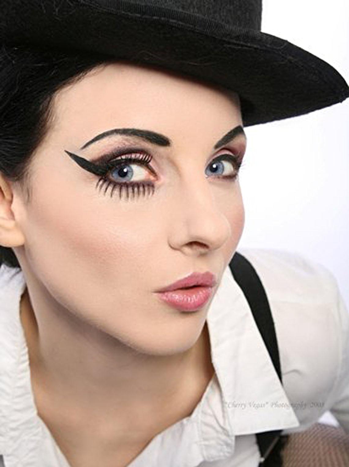 Фото макияжа в стиле чикаго 30