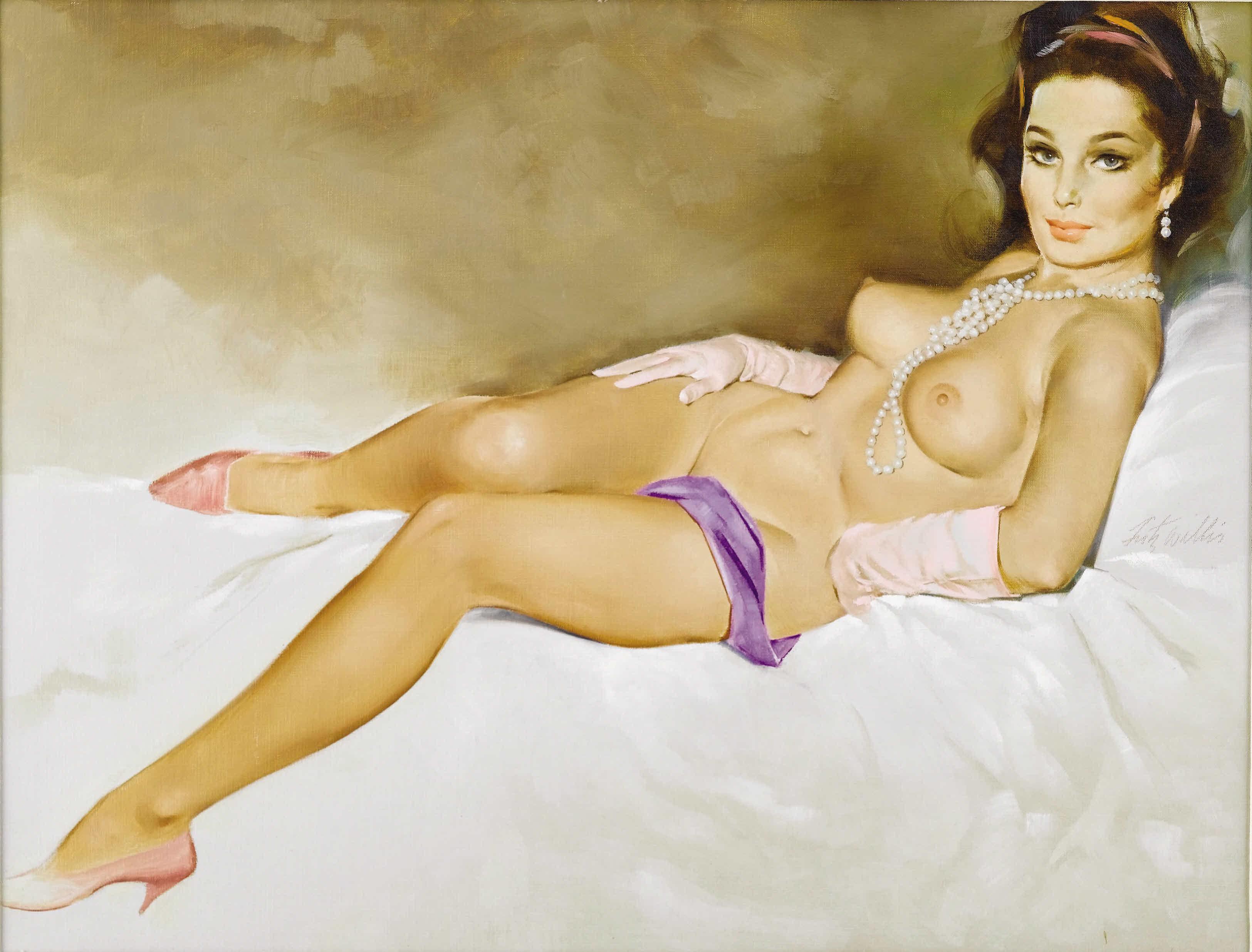 Рисованые голые женьщины 14 фотография