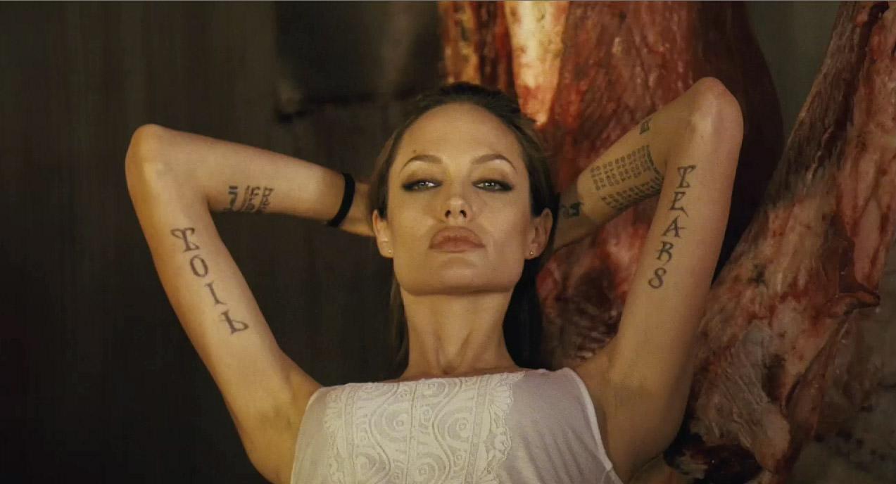 Анджелина джоли фото ее татуировок