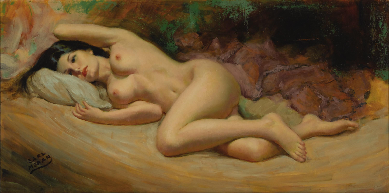 Художник рисует голую девушку 8 фотография