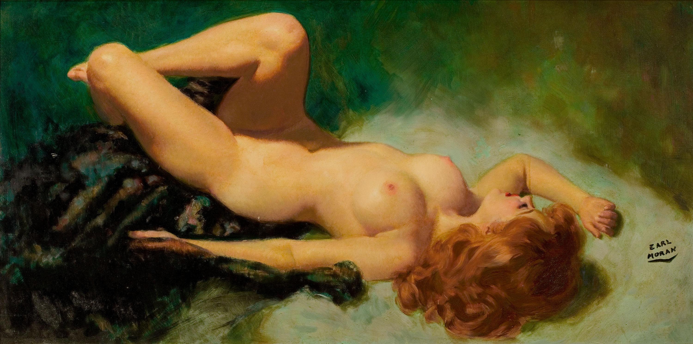 Художник рисует голую девушку 5 фотография