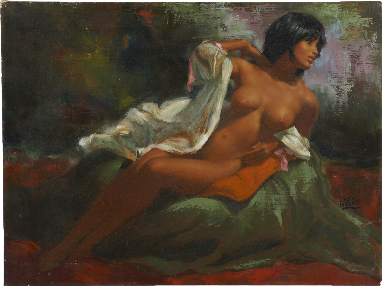 Художник рисует голую девушку 22 фотография