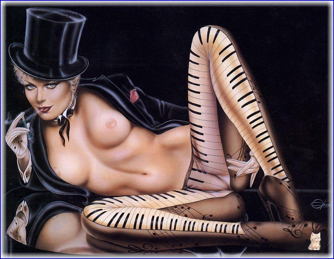 Эротик арт галерея 9 фотография