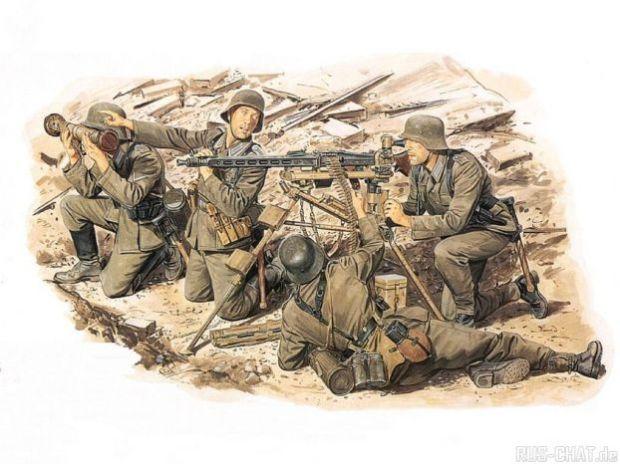 Вторая мировая война в картинках и