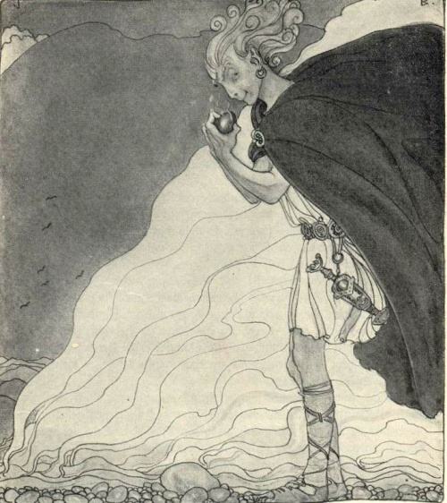 Сказочный мир Йона Бауэра (John Bauer) (119 работ)