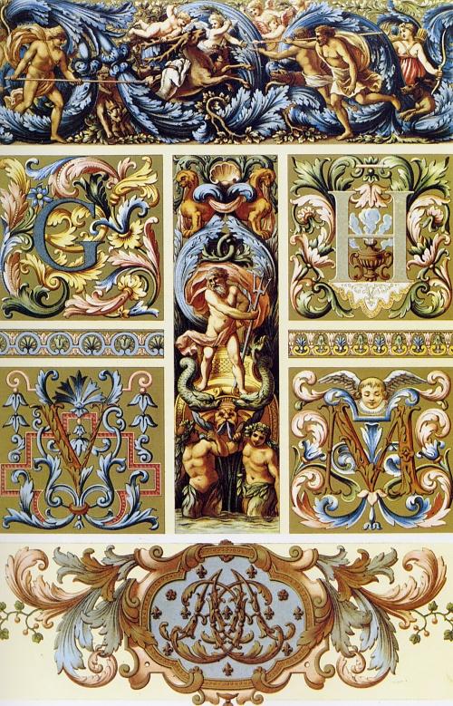 Орнамент всех времен и стилей (52 работ) (2 часть)