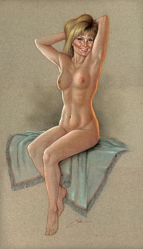 Pin-up - Jack Henslee (90 работ)